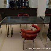 Charlotte Perriand à la fondation Vuitton (10 photos) - Le blog de Bernard Moutin
