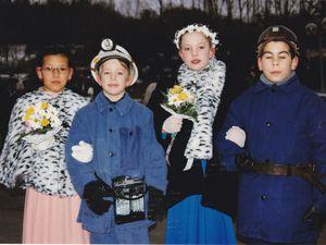 Sainte Barbe des enfants de Mineurs en 1997 à Algrange