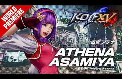[ACTUALITE] The King of Fighters XV - Athena Asamiya rejoint la Team Super Heroine