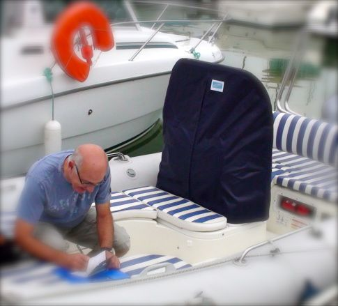 Sellerie extérieure de bateaux