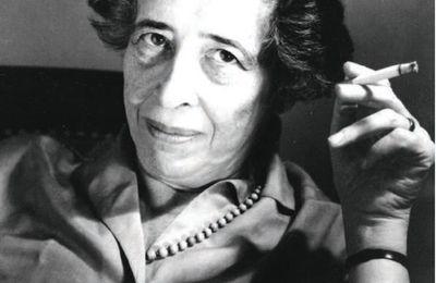 Hannah Arendt  (Hanovre 14/10/1906 - New York 4/12/1975)