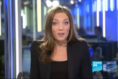 2012 01 16 @06H00 - PAULINE GODART, FRANCE 24, LE JOURNAL