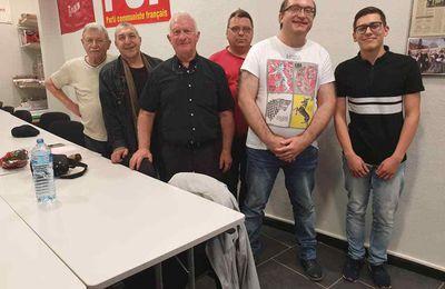 Gianni Ranieri élu nouveau secrétaire de la section communiste d'Hénin-Beaumont