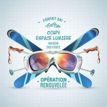 CCAPV : reconduction du  « forfait ski CCAPV-ESPACE LUMIERE »