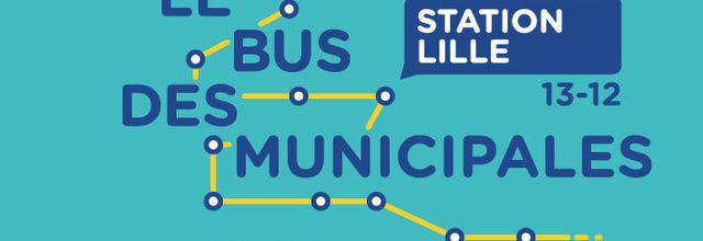 """""""Le bus des municipales"""" de franceinfo fait escale à Lille !"""