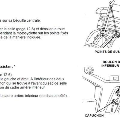 Goldwing 1500 - Démontage de la roue arrière + plaquettes