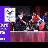 Jeux Paralympiques 2021 : Rugby Fauteuil : Japon vs France - Résumé complet