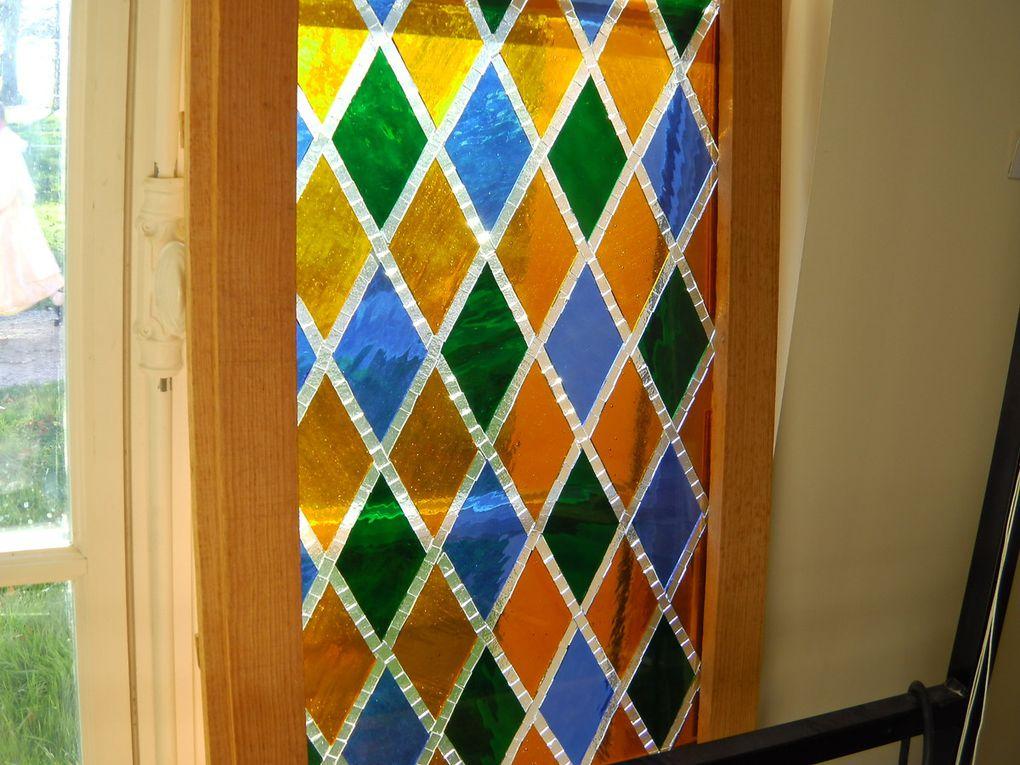 latest stained glass works
