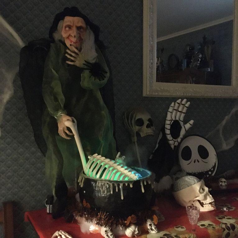 Ma déco de Halloween 2019