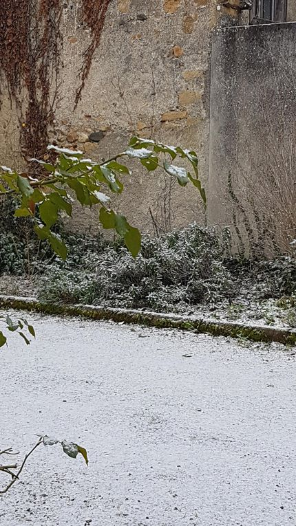 Cassagne - un peu plus de neige...