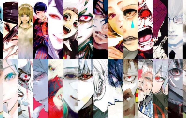 évolution des personnages #6 :  Tokyo Ghoul:RE (la saison 3 de TG)