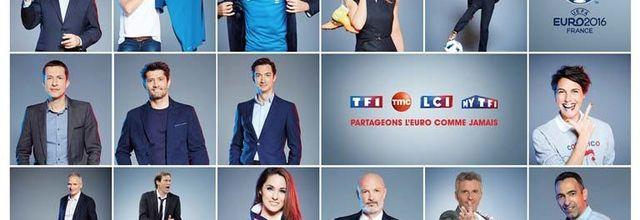 Euro 2016 - 3,4 millions de téléspectateurs devant le match Albanie / Suisse sur TF1