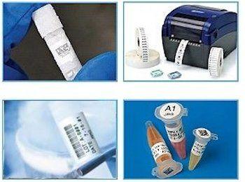 Laboretiketten FreezerBondz zum Kennzeichnen von Kryoproben