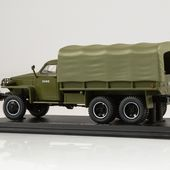 SSM1380 Studebaker US6 U4 flatbed truck with tent (with winch) /khaki/