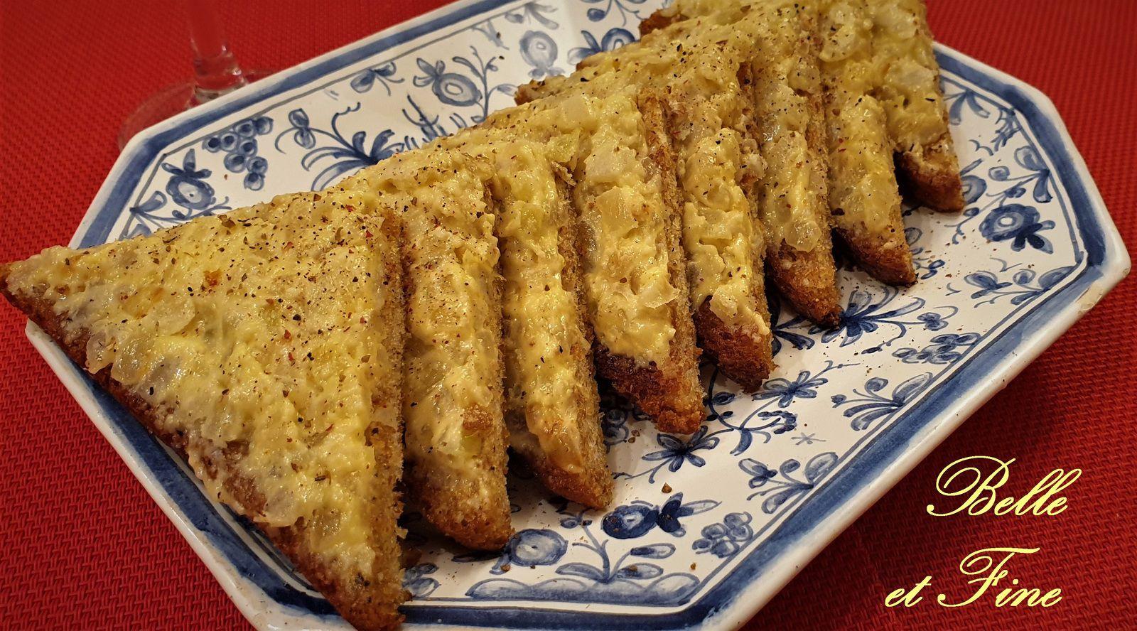 Toasts aux oignons