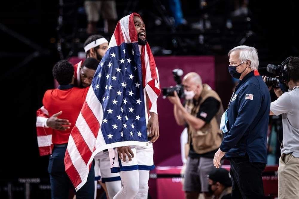 Kevin Durant élu MVP du tournoi olympique masculin 2020