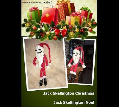 Tuto Jack Skellington en tenue de Père Noël - partie 1