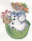 Tutoriel broderie - Broderie bonhomme de neige Avril - Passionnement Créative