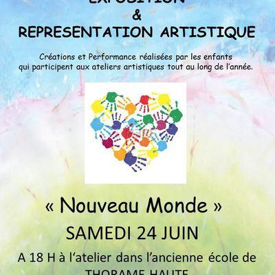 Exposition de fin d'année et Représentation Artistique