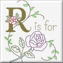 R is for rose...
