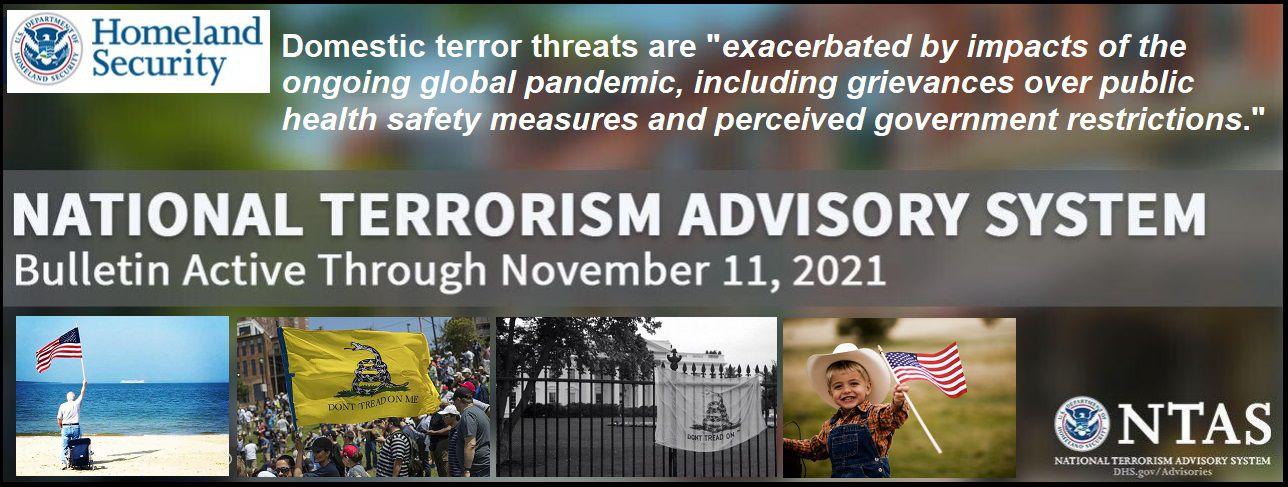 Le département de la sécurité intérieure a fait une annonce officielle du gouvernement étatsunien : si vous remettez en question la réponse du gouvernement à la COVID-19, vous êtes considéré comme un extrémiste intérieur violent (The Conservative Tree House)