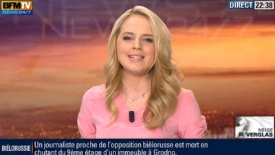 2013 01 20 - CLAIRE ARNOUX - BFM TV - WEEK-END 360 @21H00