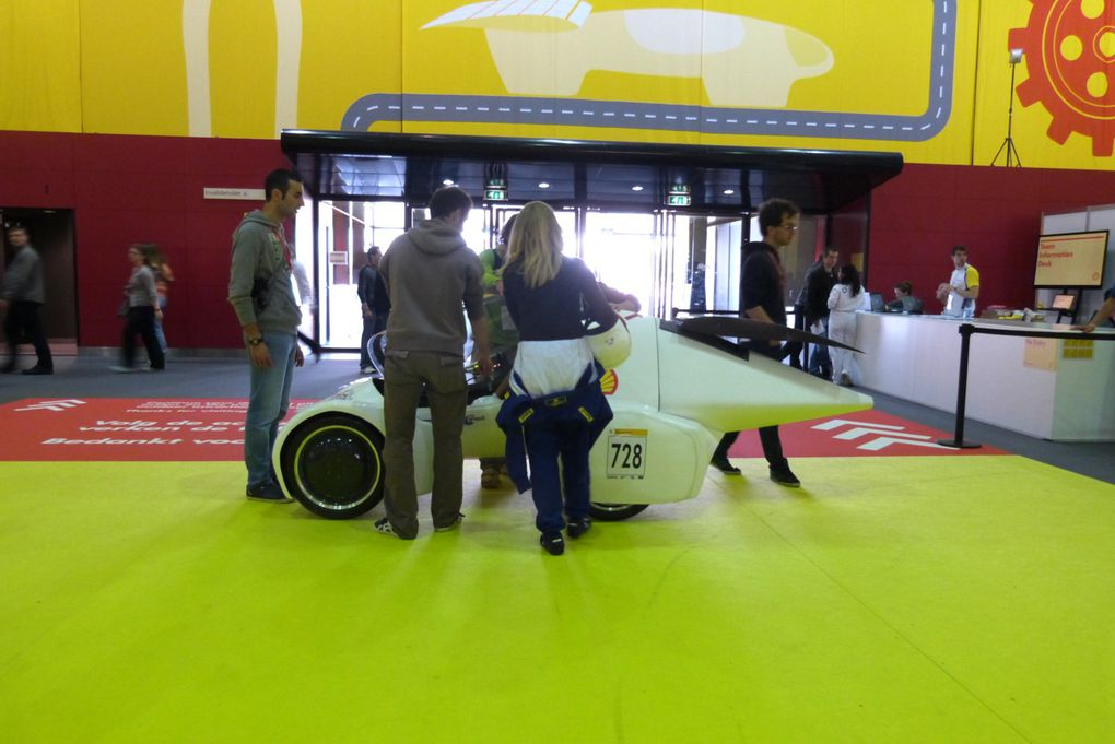 European Shell Eco-Marathon 2013 2846 km/l
