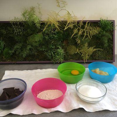 Brownies au chocolat avec 6,5 fois moins de sucres, 2 fois moins de calories et d'acides gras saturés