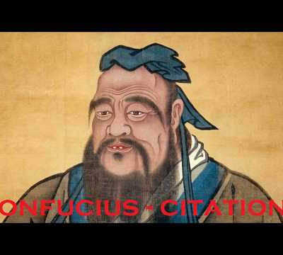 Confucius - 281 Citations