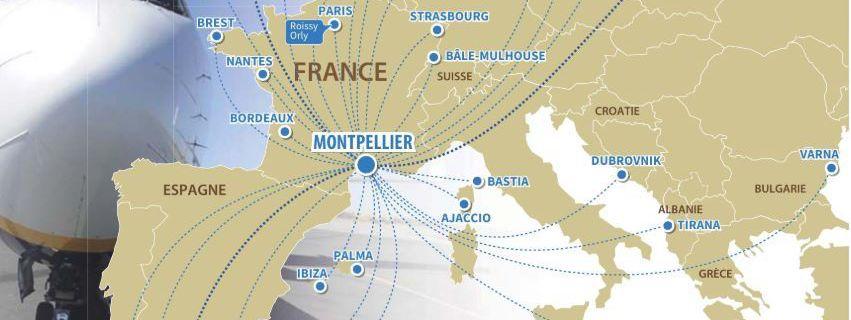 Madrid et l'Espagne délaissés par l'aéroport de Montpellier