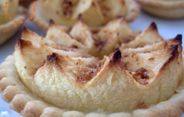 Tartelettes aux pommes hérissonnées