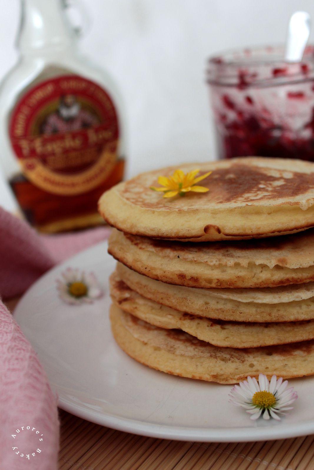 Les Pancakes moelleux de Martha Stewart.