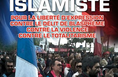 MANIF : MARCHE CONTRE LE FASCIME ISLAMISTE LE 10 novembre à 14h à Paris