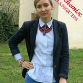 MA BLOUSE A BASQUES - PIMPRELYS
