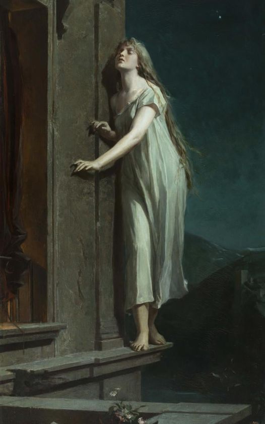 La Somnambule ( 1878 ) de Maximilian Pirner ( 1854 - 1924 )
