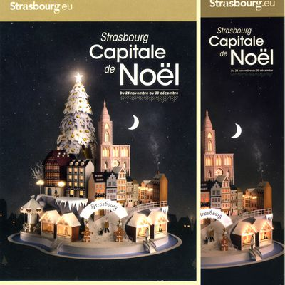 Strasbourg Capitale de Noël 2017