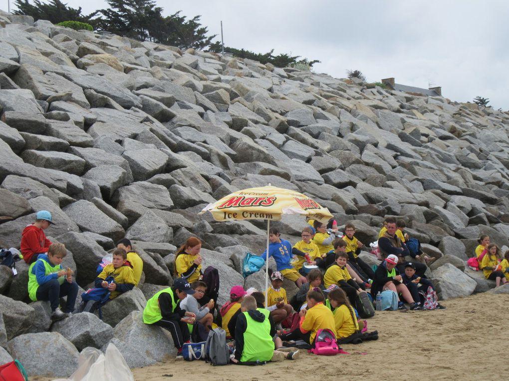 Le pique-nique sur le sable, le meilleur moment de la journée!!!!!!!