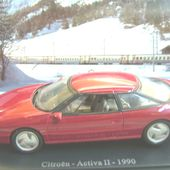 FASCICULE N°66 CITROEN ACTIVA II UNIVERSAL HOBBIES 1/43 - car-collector.net