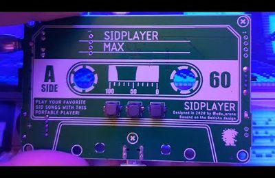 Le lecteur portable de musique SID C64 !