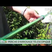 PERCHE D'ARROSAGE TELESCOPIQUE - 9 JETS - [PEARLTV.FR]