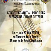 Concert de la Fanfare du RMT le 1er juin 2019 au Théatre de la Sinne à Mulhouse - anciens9genie.overblog.com