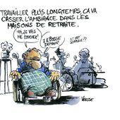 Humour Retraite: Travailler plus longtemps et maison de retraite - Doc de Haguenau