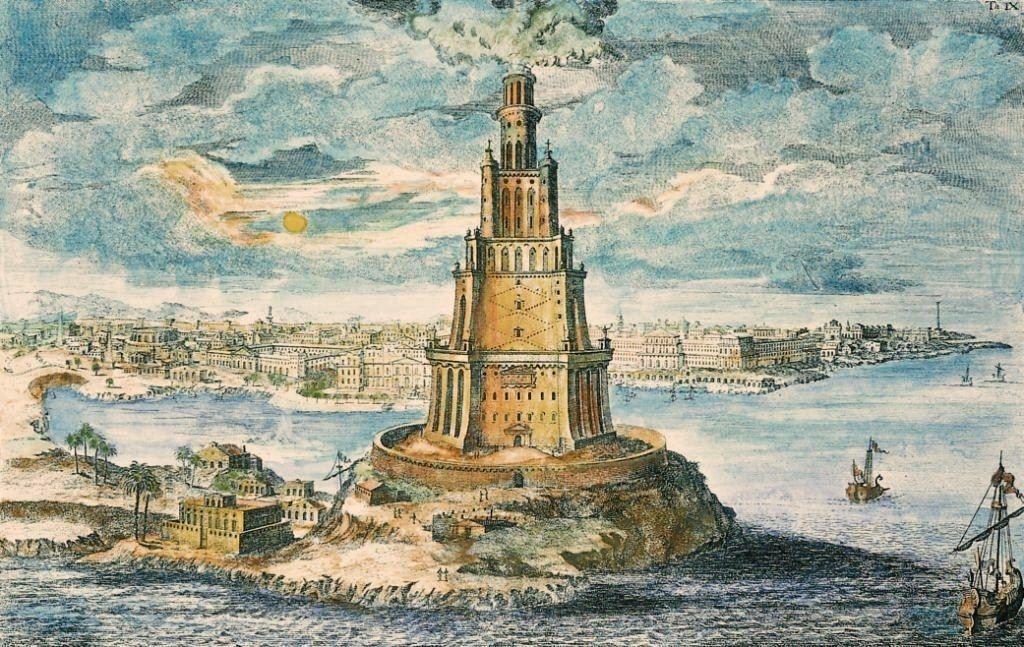 Le Phare d'Alexandrie la 7ème des 7 Merveilles du Monde