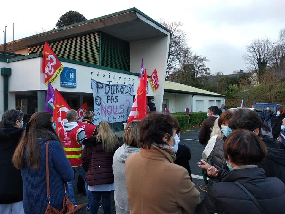 Rassemblement à Plougonven - le Triskell à Guervenan - avec les oubliés du Segur ce 26 novembre