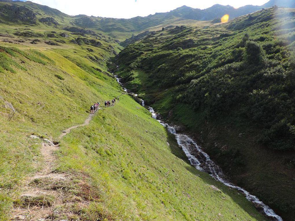 Randonnée Col de Valbuche depuis Bonvillard Maurienne avec l'ADAPAR le 17.08.18