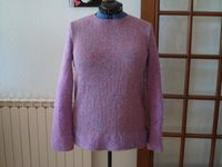 Mon pull lilas super confortable.