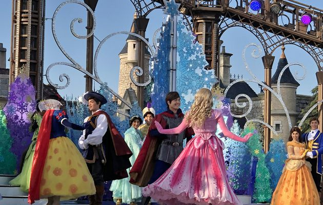 La valse des princesses Disney