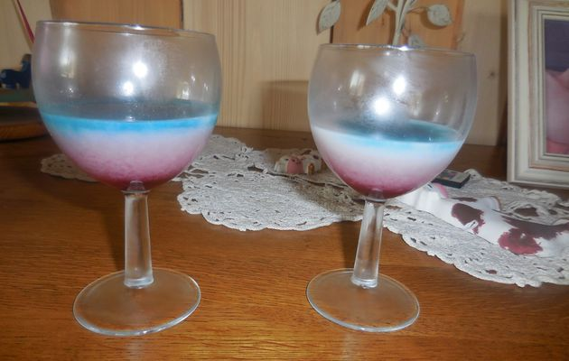 COCKTAIL BLEU BLANC ROUGE