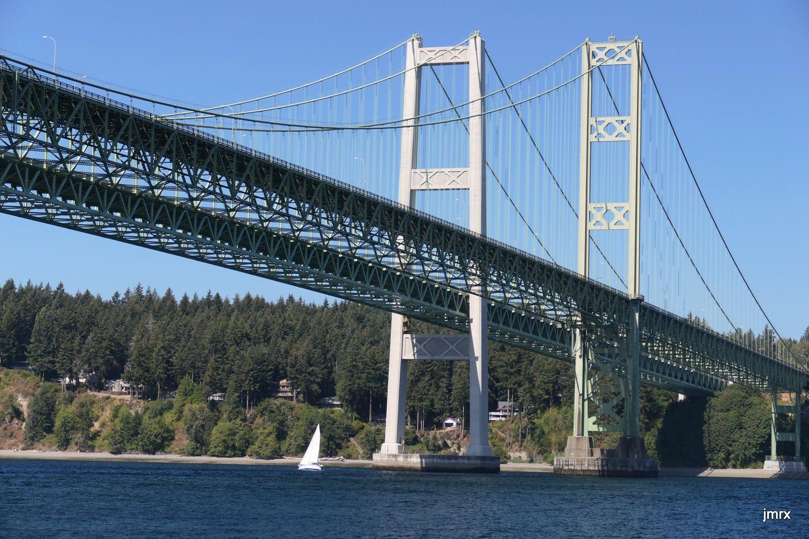 Les deux ponts de Tacoma.