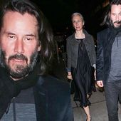 Keanu Reeves enjoys Friday night out with Alexandra Grant